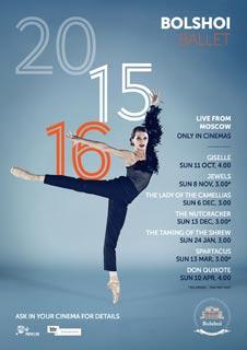 Don Quixote (Live) - Bolshoi Ballet From Moscow 2015/16 Season