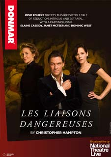 Les Liaisons Dangereuses (Live) - Donmar Warehouse Production - National Theatre 2015/2016 Season